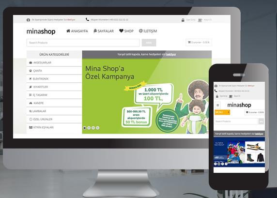 Minashop WooCommerce Teması