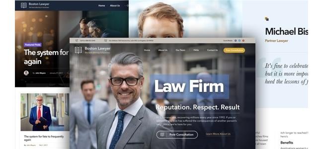 WordPress Avukat Teması